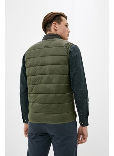 Jack & Jones JJEMAGIC BODYWARMER COLLAR STS 12173754Olive NiXS               Renkli